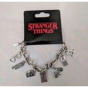 Stranger things charm bracelet NEW